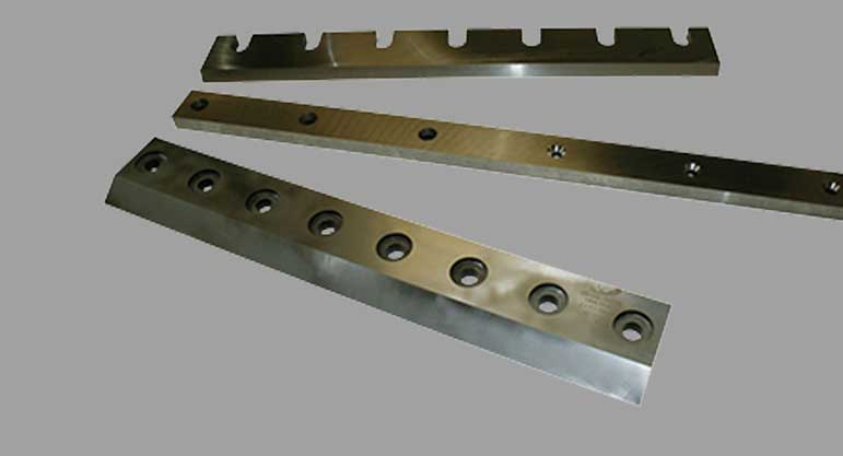 shear blades machine knives