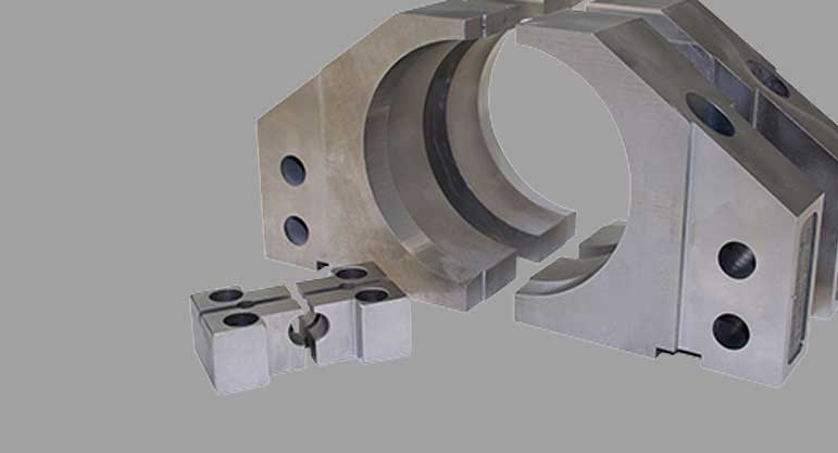 tube shear jaws